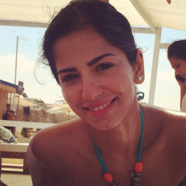 أميرة هاني تستمتع بالصيف1