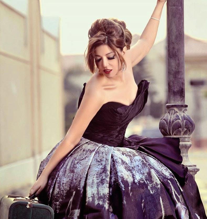أناقة سميرة بجلسة تصويرية
