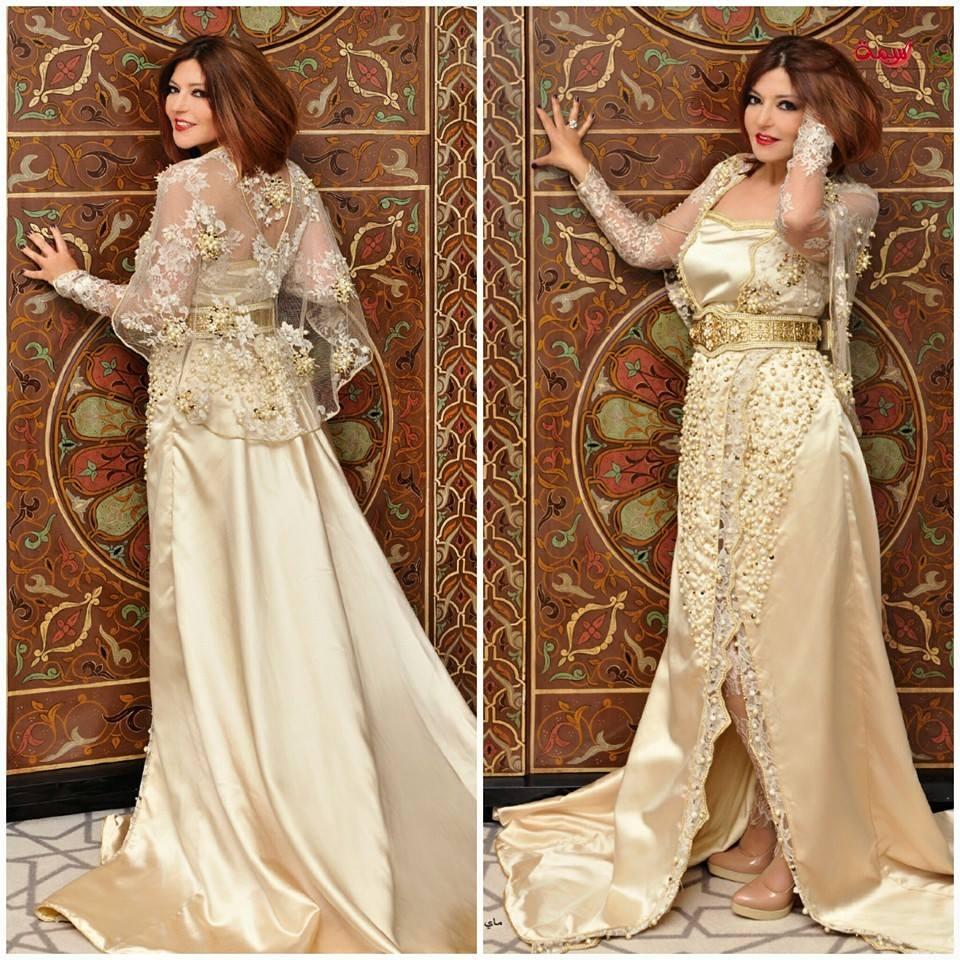 أناقة سميرة سعيد بالقفطان المغربي