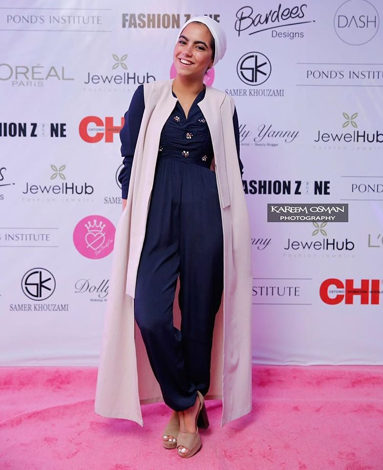 ارتدي الجمب سوت على طريق مدونة الموضة فرح امارا