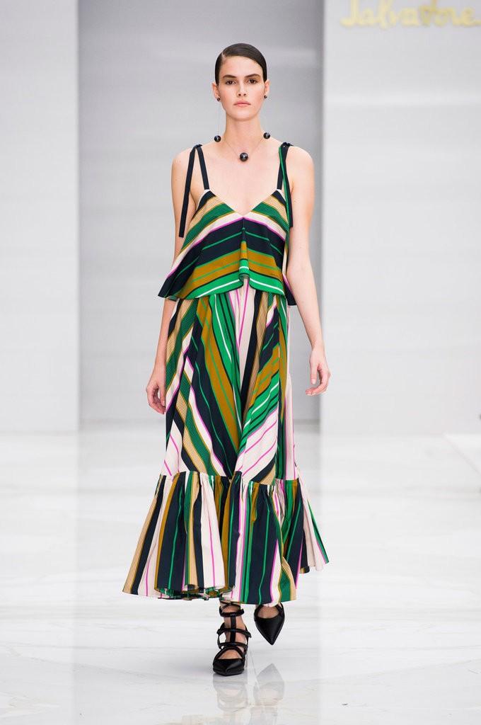 الملابس المخططة من Salvatore Ferragamo