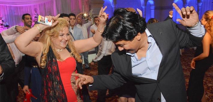 النجوم يشاركون ناصر سيف فرحته بزواج ابنته (5)