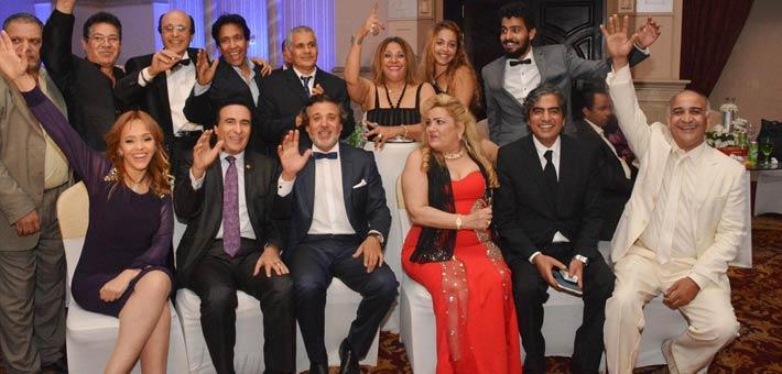 النجوم يشاركون ناصر سيف فرحته بزواج ابنته (7)