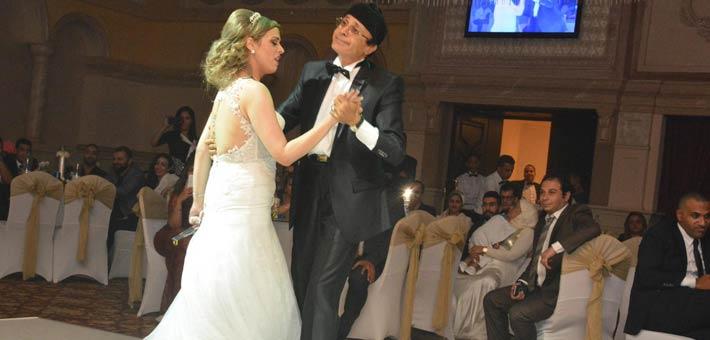 النجوم يشاركون ناصر سيف فرحته بزواج ابنته (8)