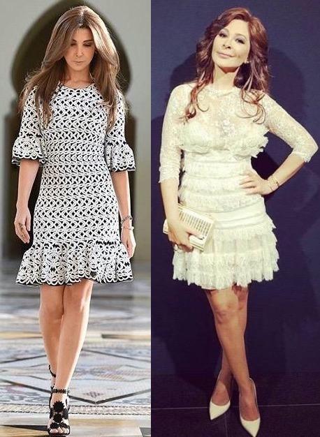 تليق بهما الفساتين الأنيقة والأنثوية