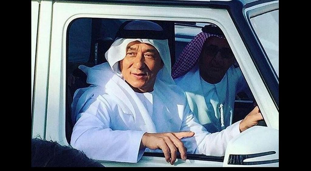جاكي شان بالزي الاماراتي