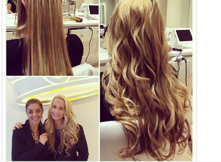 خصلات الشعر الإضافية (4)