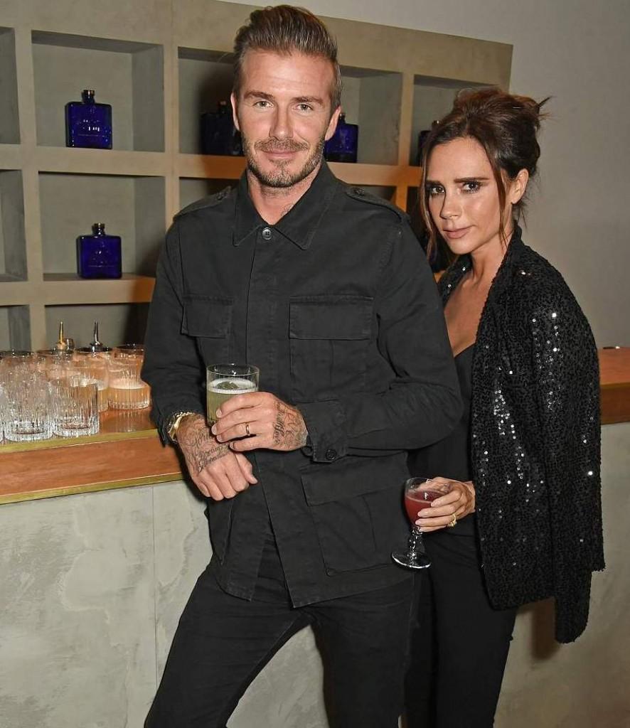 ديفيد بيكهام وزوجته (3)