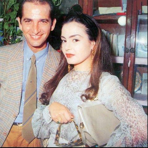 شيريهان وهشام سليم في صورة نادرة