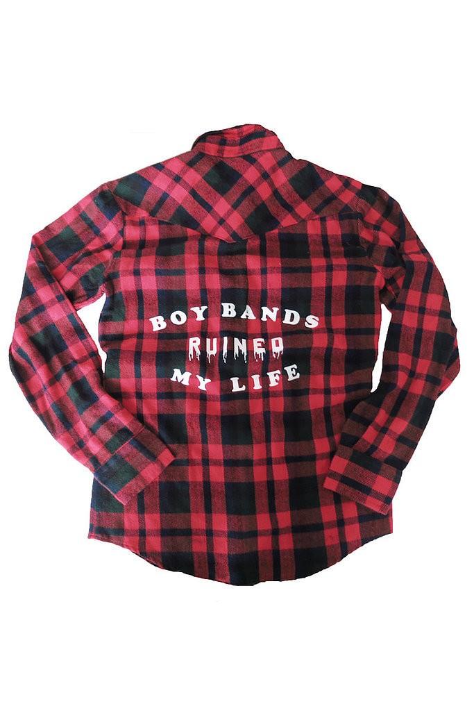 قميص أنيق من ماركة  Flannel