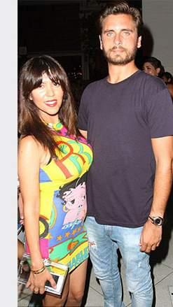 كورتني كردشيان وصديقها السابق (1)