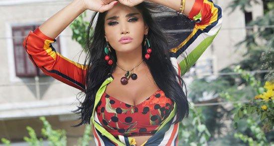 ميليسا تنتهي من أغنية أنا مصرية 100 (4)