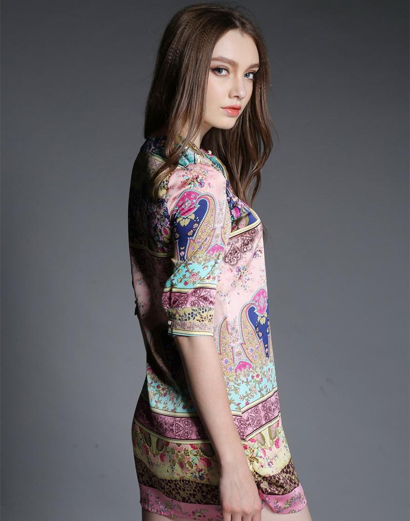 2015-women-fashion-youth-romance-printing-half-sleeve-shirt-joker-satin-blouse