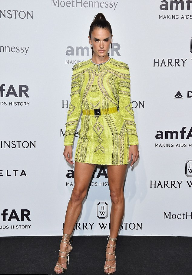 Alessandra Ambrosio in DSquared2