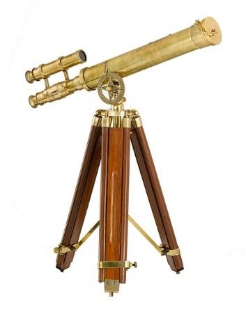 Antique Brass Telescope 1600AED