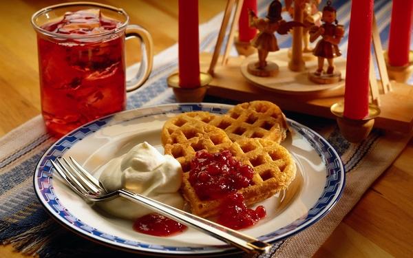 Biscuit-waffles