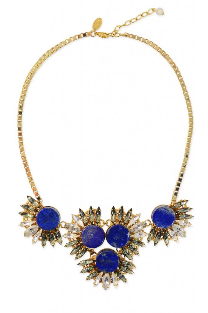 Blue Jasmine Necklace