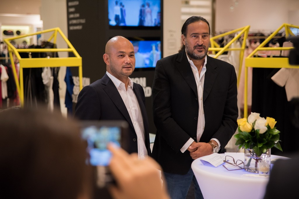 Bong Guerrero, Founder and CEO FFWD and Michel Abchee, Chairman and CEO of Galeries Lafayette Dubai