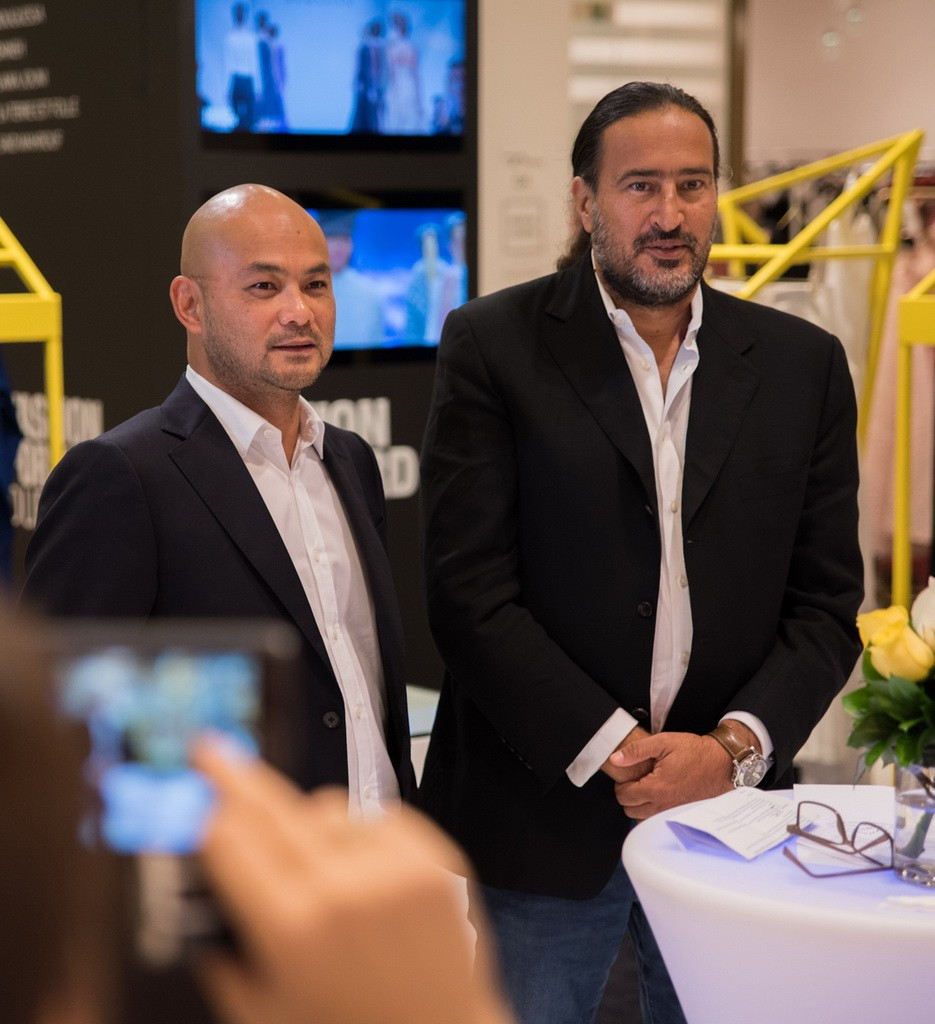 Bong Guerrero, Founder and CEO FFWD and Michel Abchee, Chairman and CEO of. Galeries Lafayette Dubai