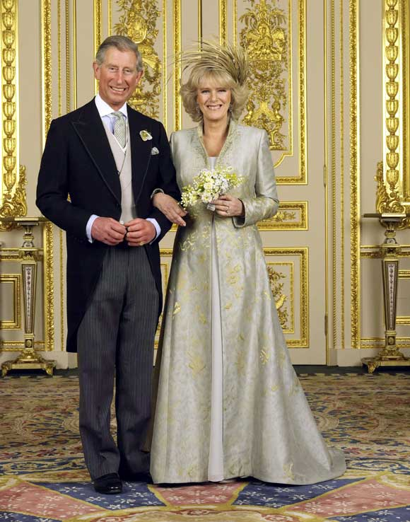 Camilla Parker Bowles on her wedding.