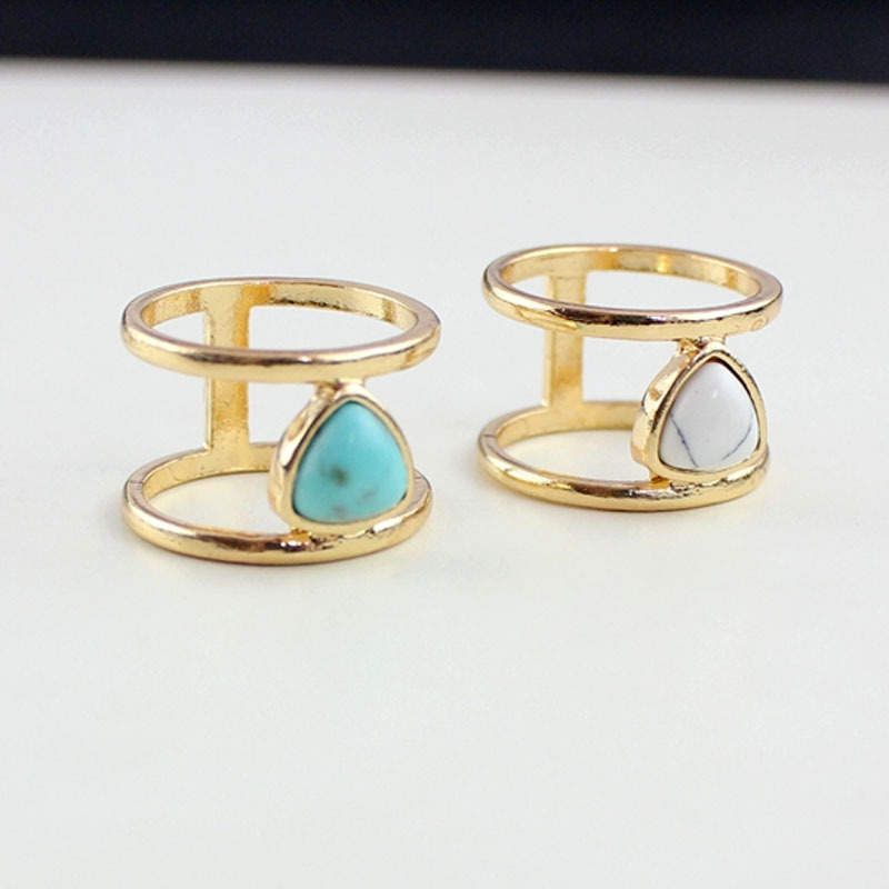 Cataza-Raw-Stone-White-Blue-turquoise-Rings-for-Women-Jewelry