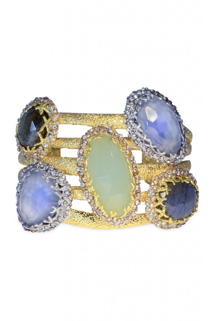 Cerulean Jewel Box Cuff