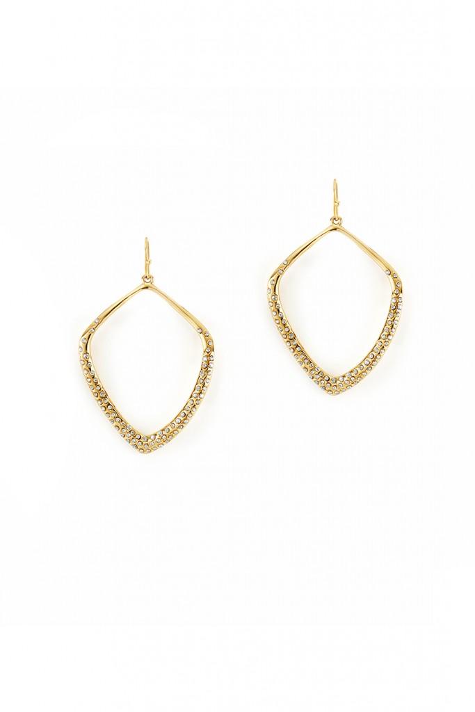 Diamond Circuit Earrings