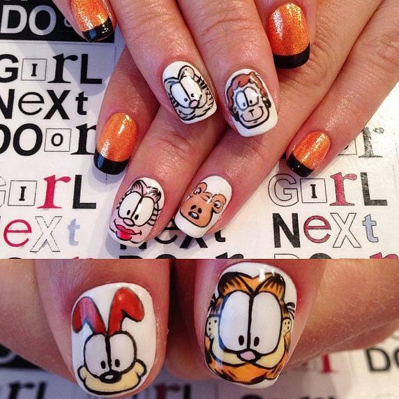 Garfield-Glam
