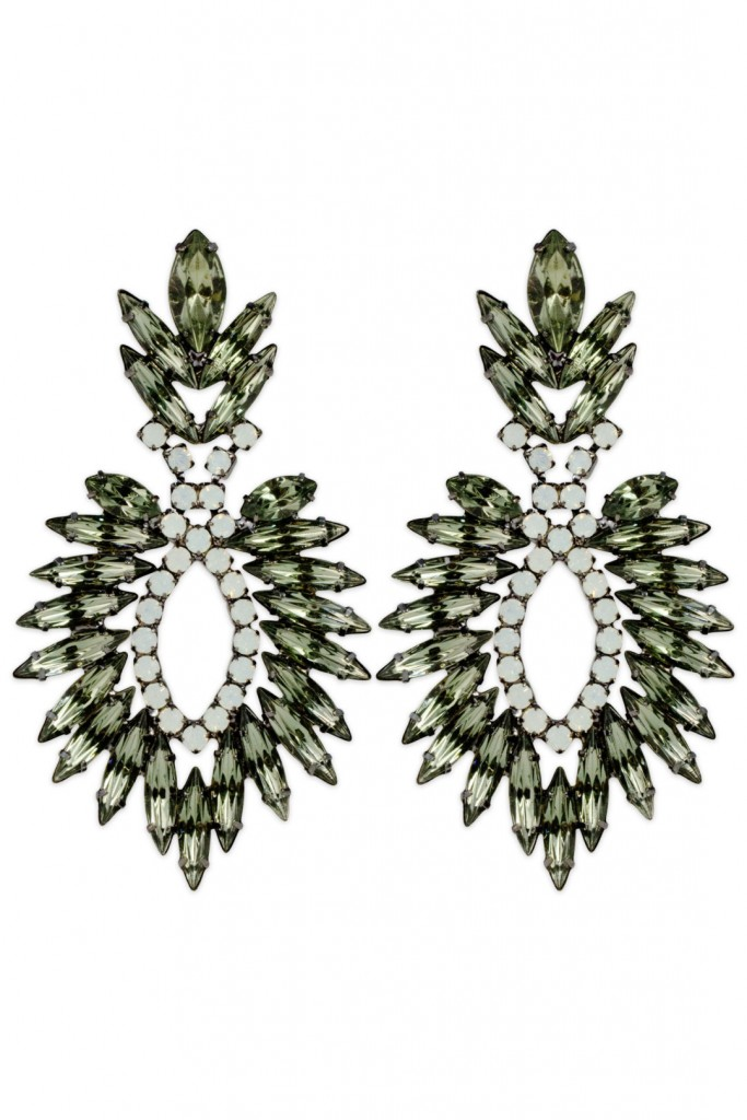 Jagged Feather Earrings