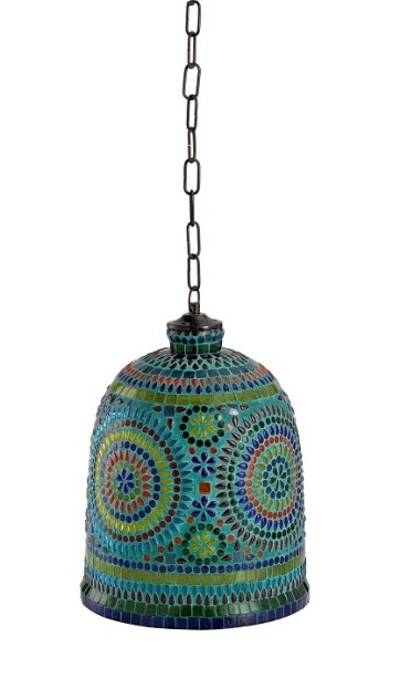 Mosaic-Painted Hanging Light 350AED