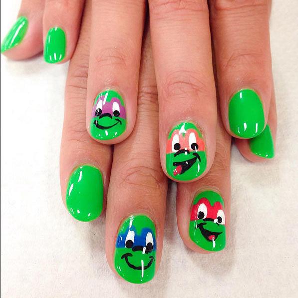 Ninja-Turtle-Nails