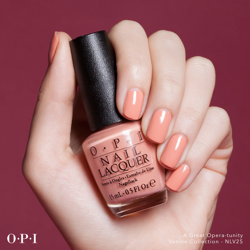 OPI - Venice Collection - A Great Opera-Tunity - hand visual - AED49 - for online use