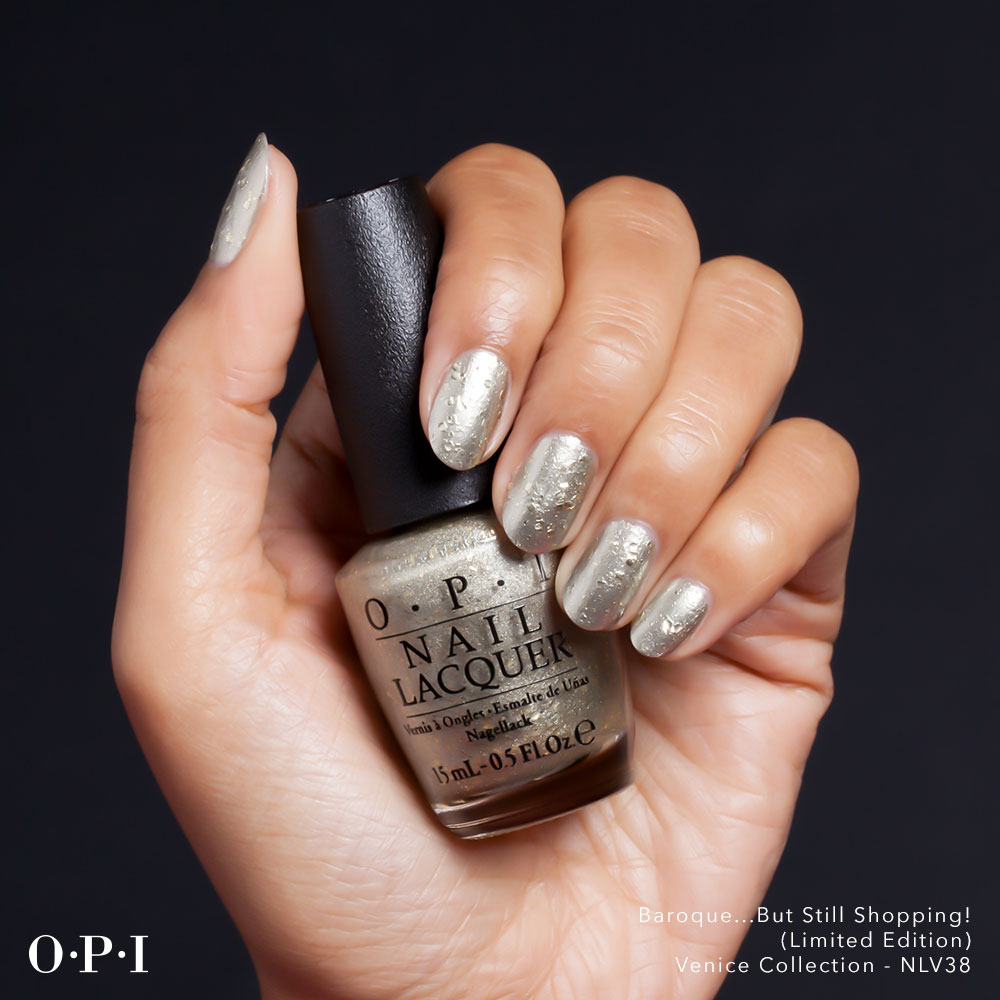OPI - Venice Collection - Baroque But Still Shopping - hand visual - AED49