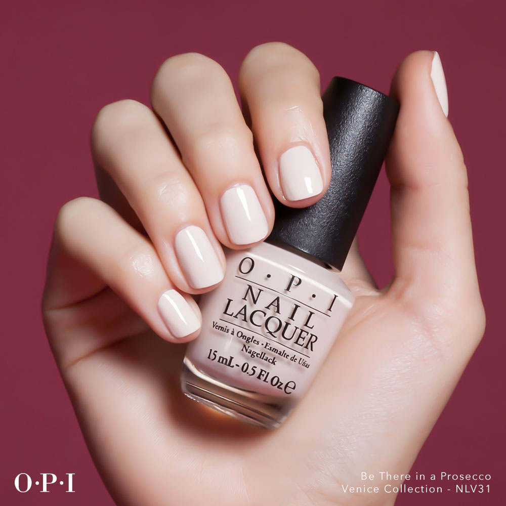 OPI - Venice Collection - Be There In A Prosecco - hand visual - AED49