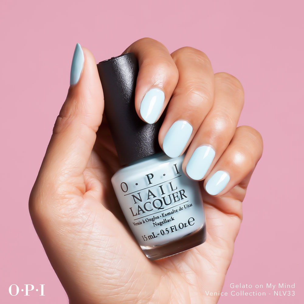 OPI - Venice Collection - Gelato On My Mind - hand visual - AED49