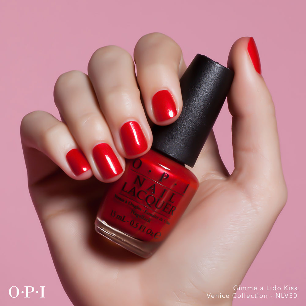 OPI - Venice Collection - Gimme A Lido Kiss - hand visual - AED49