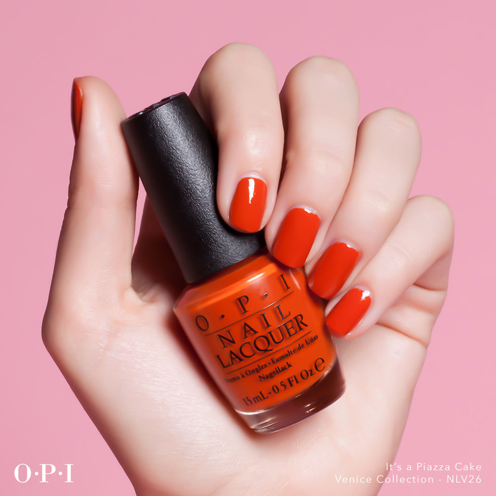 OPI - Venice Collection - Its A Piazza Cake - hand visual  - AED49