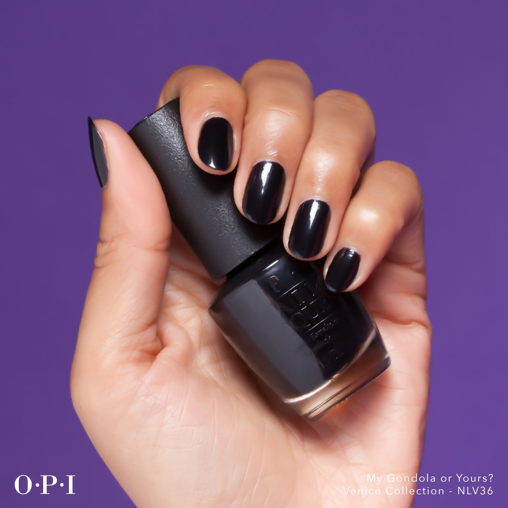 OPI - Venice Collection - My Gondola Or Yours - hand visual - AED49