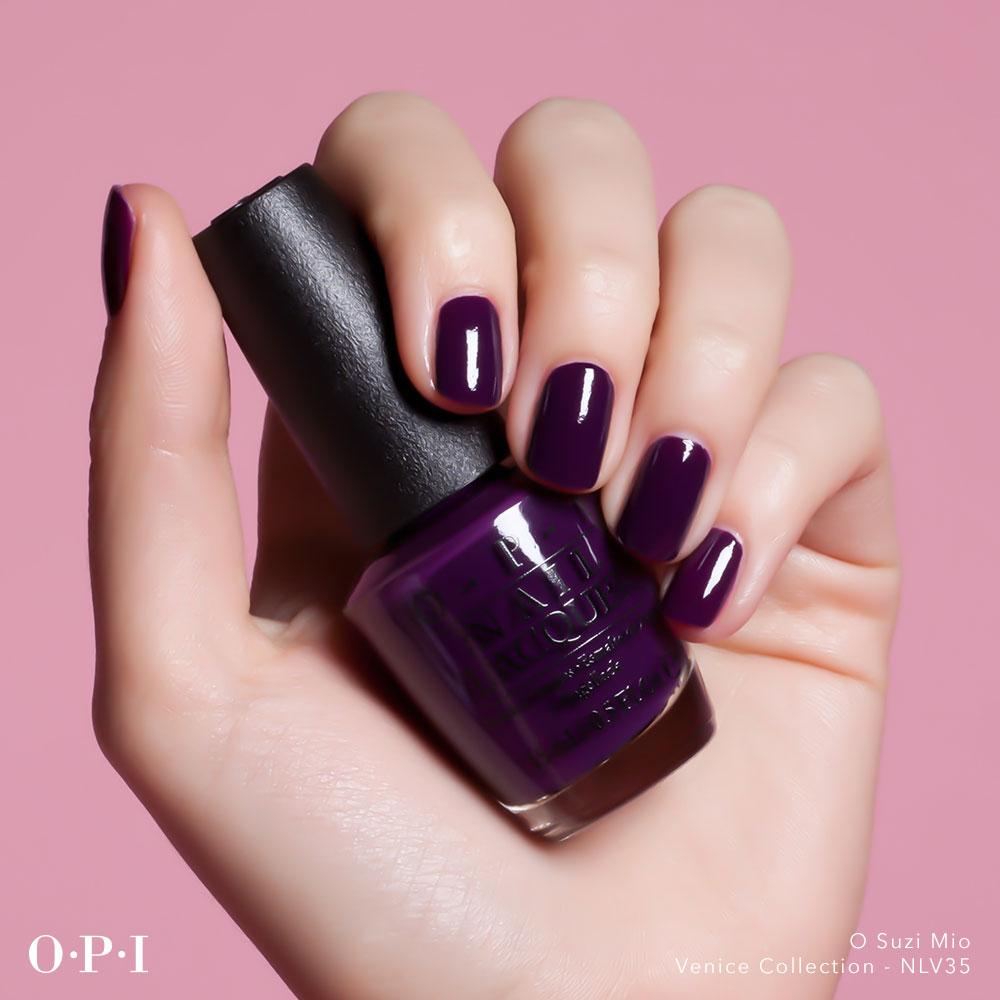 OPI - Venice Collection - O Suzi Mio - hand visual - AED49