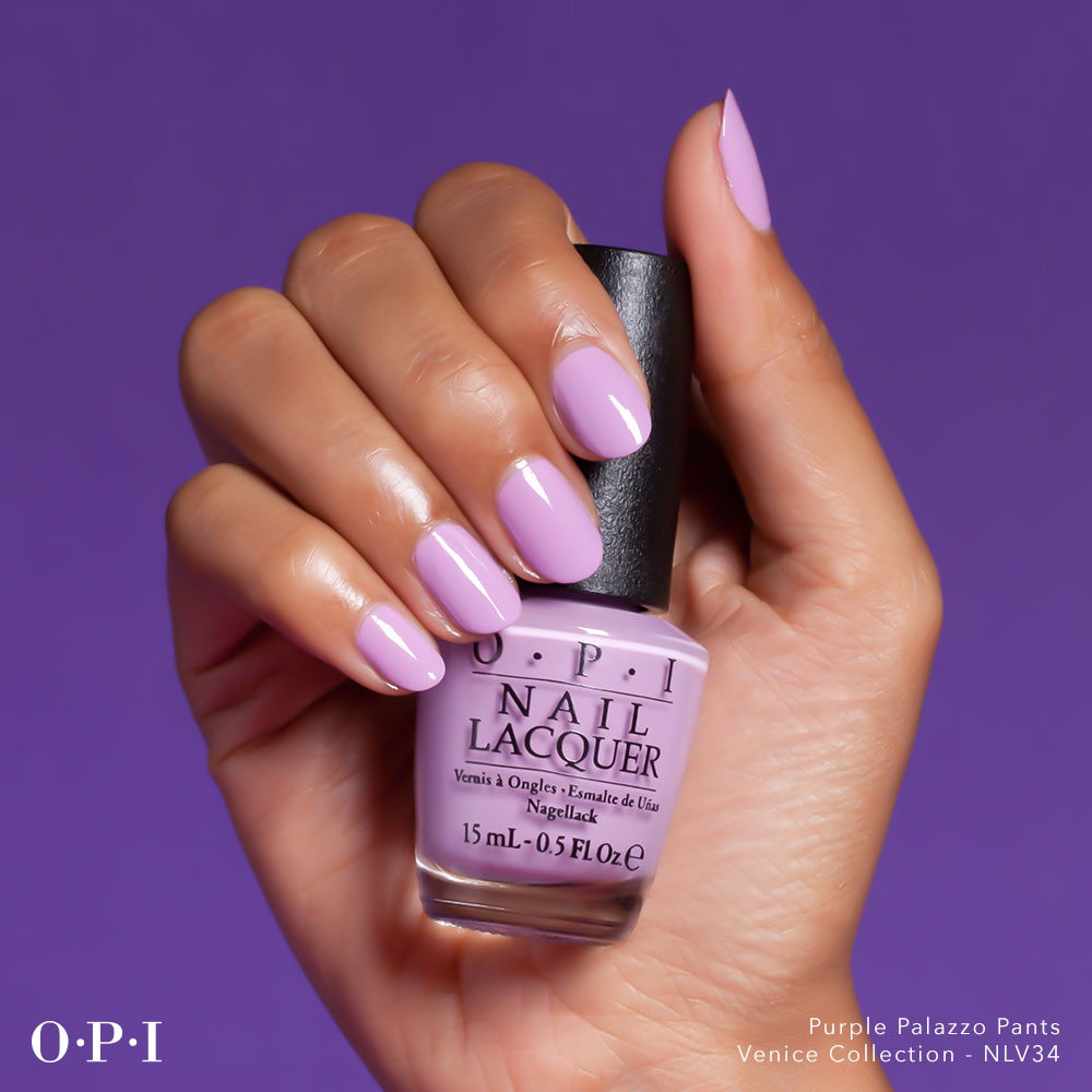OPI - Venice Collection - Purple Palazzo Pants - hand visual - AED439