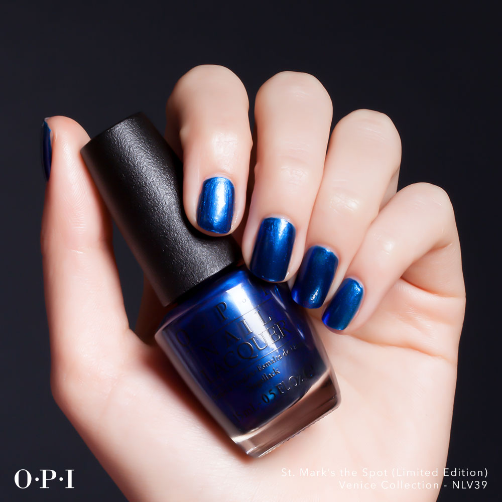 OPI - Venice Collection - St Marks The Spot - hand visual - AED49