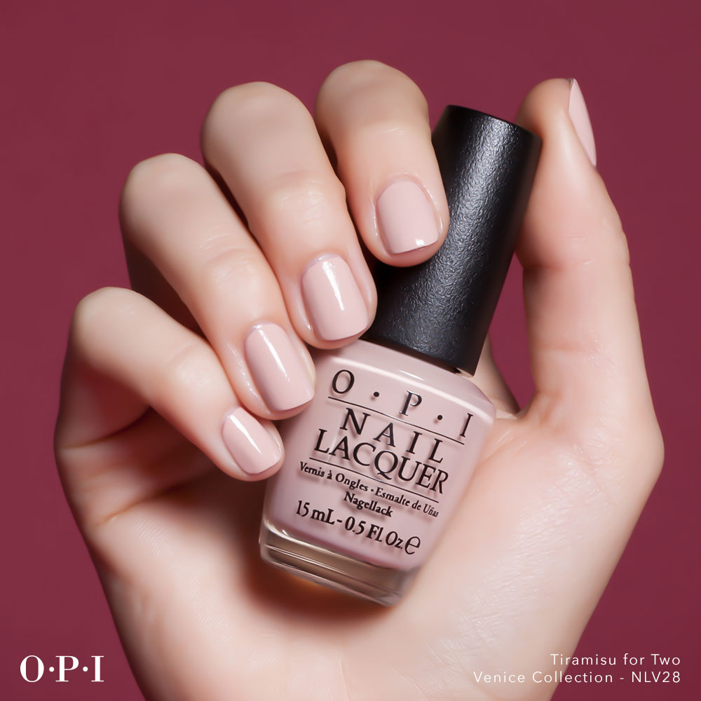 OPI - Venice Collection - Tiramisu For Two - hand visual - AED49