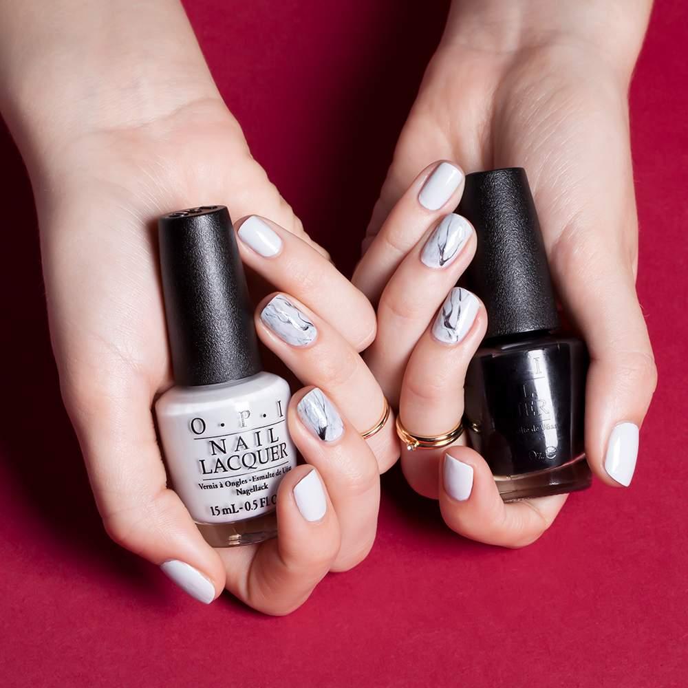 OPI - Venice Collection - Venice Nail Art Marble - nail art visual 3