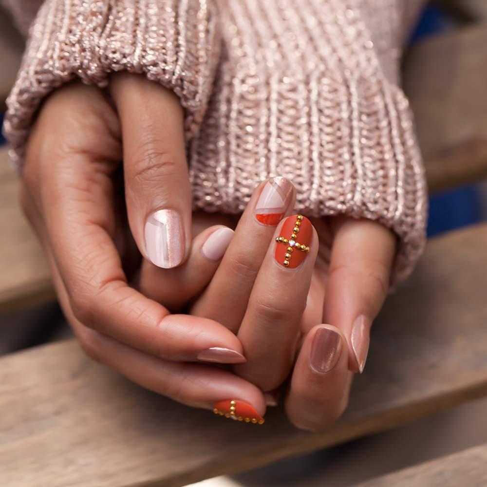 OPI - Venice Collection - Venice Nail Art Rose Gold - nail art visual 8