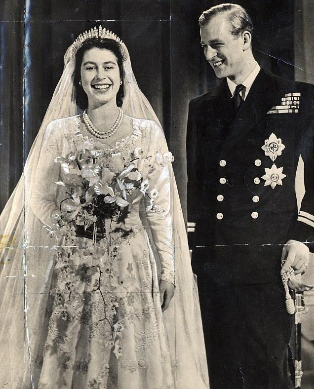 Queen Elizabeth, on her wedding1