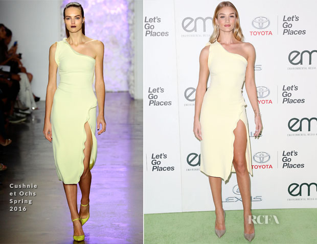 Rosie HW in Cushnie et Ochs Dress