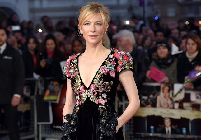 kate Blanchett in Schiaparelli Dress