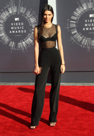 Miley Cyrus at The  2014 MTV Video Music Awards in LA