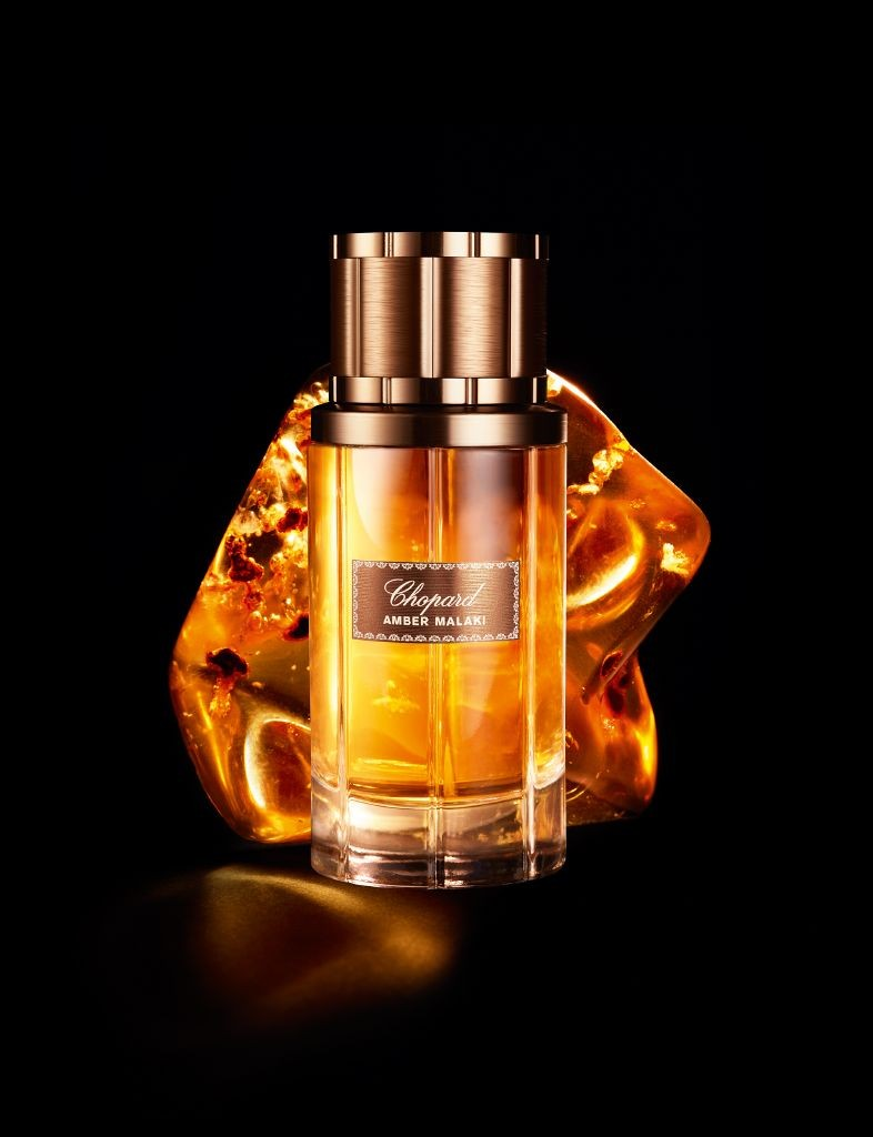 resized_Chopard-Amber Malaki-Packshot and ingredient-80ML AED475