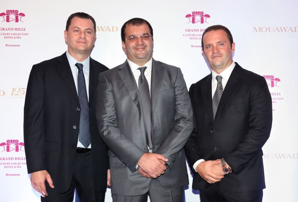 resized_Fred Mouawad, Alain Mouawad and Pascal Mouawad